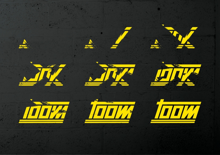 toom_brushed_Logo_wall